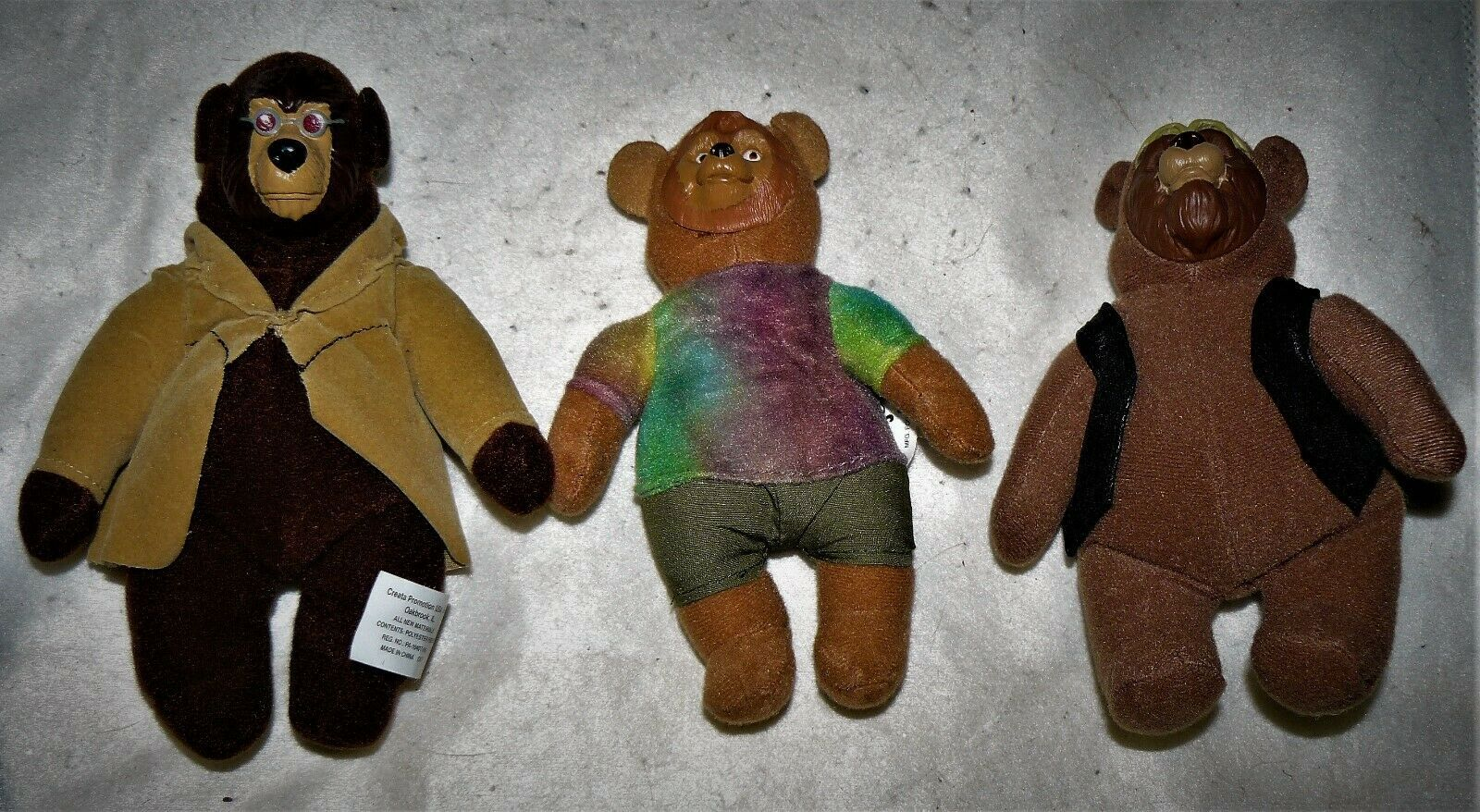 Primary image for Vtg Disney Country Bears lot of 3 McDonald's Happy Meal toys plush