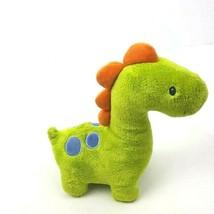 "Baby Gund Plush Ugg Dinosaur Green Blue Dots Stuffed Animal Toy 10"" - $17.81"