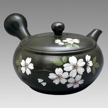 Tokoname Kyusu teapot - JINSUI - SAKURA (B) 340cc - obi ami stainless st... - $59.83