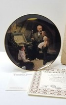 Norman Rockwell GRANDPA'S TREASURE CHEST Collectors  Plate Never Displayed  - $9.99