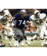 Bob Lilly Dallas Cowboys SA Vintage 11X14 Color Football Memorabilia Photo - $14.95
