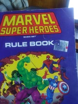 Marvel Heroes Basic Set Rule Book by TSR - $18.00