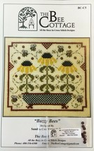 The Bee Cottage Counted Cross Stitch Patterns Bees Pin Cushion Mini Quee... - $20.85+