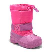 Cat & Jack Toddler Girls' Zera Toggle Pink Waterproof Insulated Winter Boots 5-6