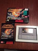 Wing Commander (Super Nintendo, 1992) Complete w/Box & Manual!! SNES - $37.39