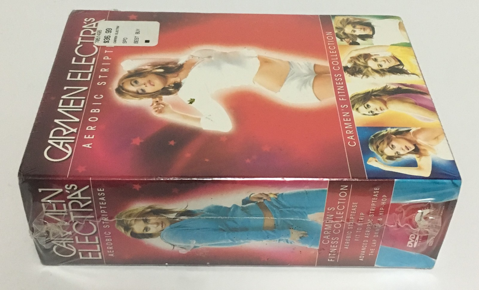 Carmen Electra's Aerobic Striptease DVD Set NEW Sealed