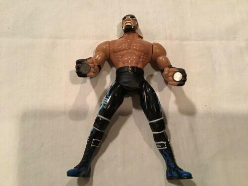 "1999 Hollywood Hulk Hogan 7"" Toy Biz Smash N' Slam Wrestling WCW Action Figure"