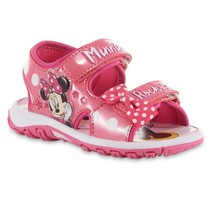 NEW Girls Disney Minnie Mouse Sandals Size 7 9 10 11 or 12 - $19.99