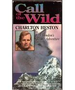 Call of the Wild VHS Charlton Heston - $2.49