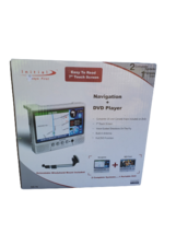 """Initial Portable Navigation DVD Player Voice-Guided 7"""" Screen SEALED - $149.99"""