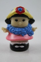 Fisher Price Little People Sonya Lee Tea Party With Hat And Scarf - $2.47