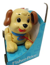 Fisher-Price Lil' Snoopy Educational Pull-along Puppy Toy Tail Wiggles - $19.99