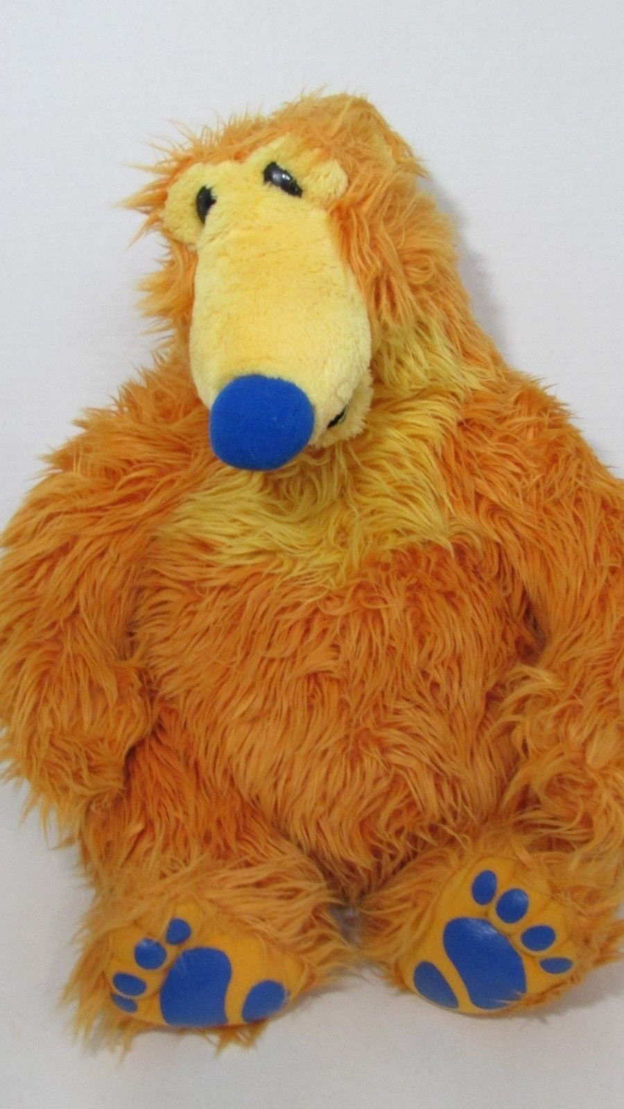 Disney Bear in the Big Blue House large plush orange teddy Mattel 18-19""