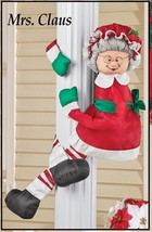 NEW! Christmas Decoration Mrs. Claus Porch Post Tree Hugger   - ₨4,050.76 INR