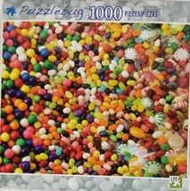 New 2011 Fun Candy Jelly Bean 1000 Piece Puzzlebug Jigsaw Puzzle Factory... - $12.19