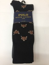 Polo Ralph Lauren Wolf Socks 2-pick Crew - $24.30