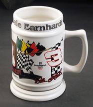 Dale Earnhardt Large Beer Soda Mug White Ceramic 24 oz - $8.86