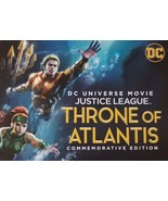 DC Justice League Throne of Atlantis (2018) Aquaman  Digital Code only N... - $6.55