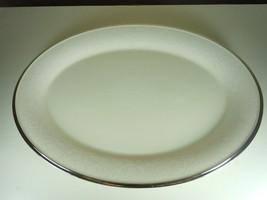 Lenox Moonspun Oval Platter - $187.10