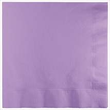 3 Ply Lunch Napkins Luscious Lavender/Case of 500 - £31.45 GBP