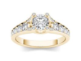 IGI Certified 14k Yellow Gold 0.75 Ct Diamond Classic Solitaire Engaemen... - $899.99
