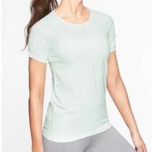 Womens Athleta New Yoga Pilates Top XL Mint Green Foothill Seamless Anti... - $89.00
