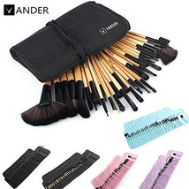 VANDER 32Pcs Set Professional Makeup Brush Set and Cosmetic Brushes Bag ... - $267,53 MXN