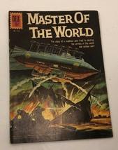 Master Of The World Dell Movie Comic #1157 1961 Scifi Fine J Verne Vincent Price - $21.78