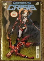 Heroes In Crisis #4 - VF+/NM - Tom King, Clay Mann, DC Comics - $4.50
