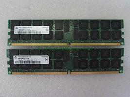 4GB (2X 2GB) Infineon HYS72T256220HR-5-A 2Rx4 PC2-3200 Server Memory Modules