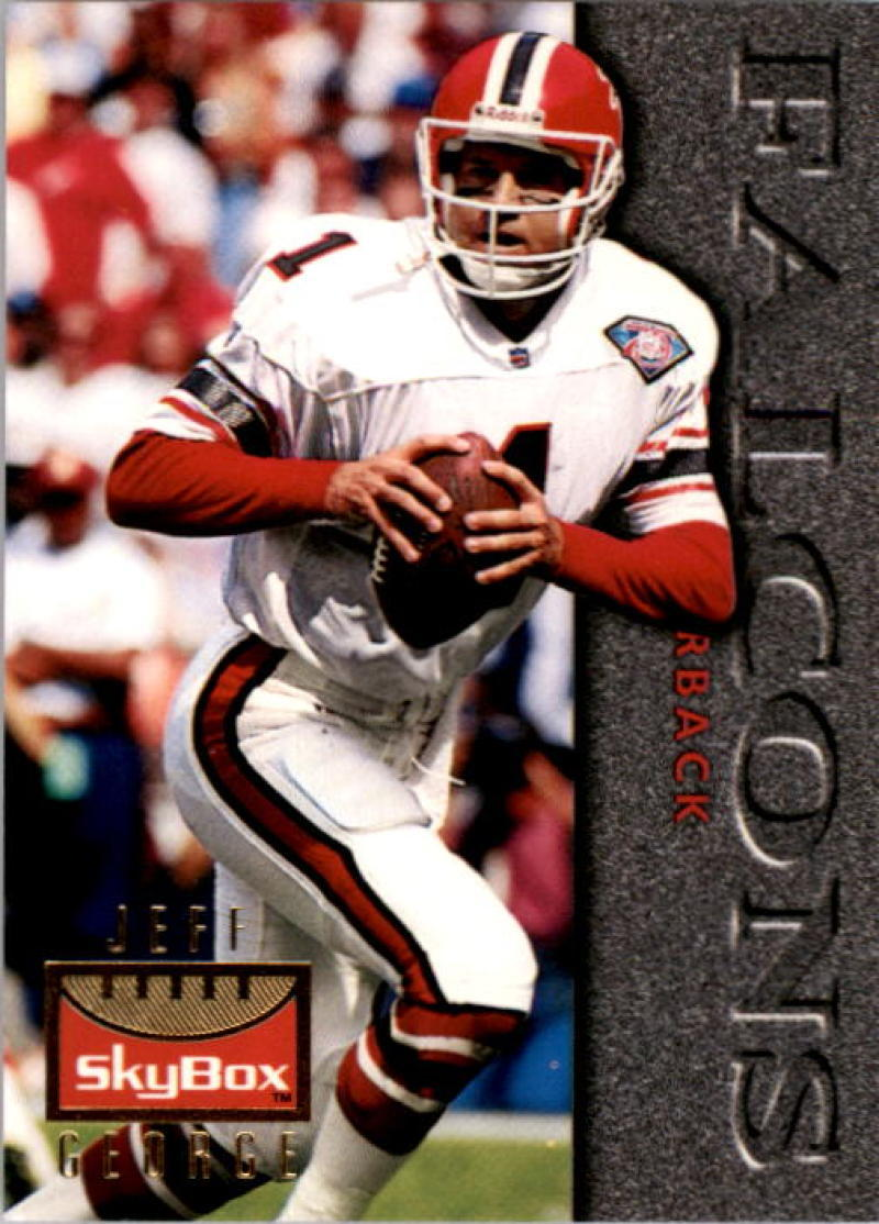 Primary image for 1995 SkyBox Premium #6 Jeff George NM-MT Falcons