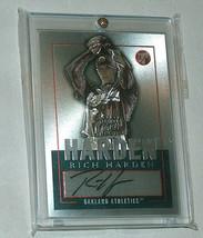 2003 Topps Original Tpa-Rjh Riche Durci Oakland A's Autographe MLB Baseb... - $9.19