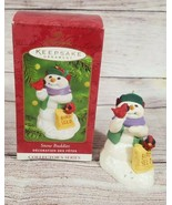 Vintage Hallmark Snow Buddies Third in Collector's Series 2000 Snowman ... - $9.69