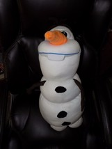 "Pillow Pets Disney's Frozen Olaf 28"" Body Pillar Plush EUC - $22.41"