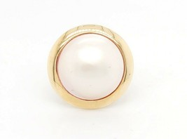 14k Yellow Gold Vintage Women's Pearl Ring - $336.60