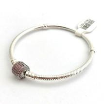 Pandora Signature Fermoire,Déguisement Rose Cz Bracelet,590723CZS-19,7.5... - $70.81