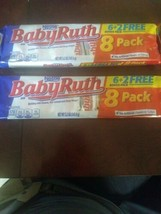 Nestle Baby Ruth 8 Pack Fun Size Set Of 2 - $27.13