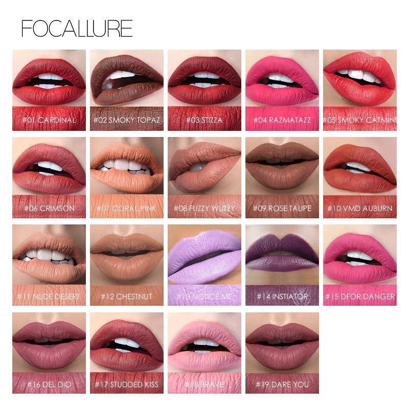 Matte Lipsticks Waterproof Lip Sticks Long Lasting Pencil Cosmetic Lips Makeup image 3