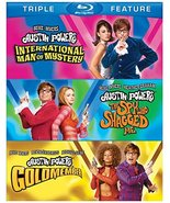 Austin Powers Triple Feature Trilogy (Blu-ray) (2012) - $9.95