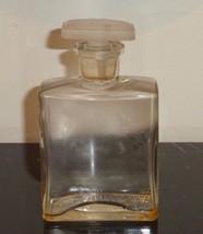 """VINTAGE RICHARD HUDNUT GARDENIA BOTTLE LETTER """"R"""" ON GLASS STOPPER 5 1/4... - $99.00"""