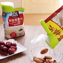 Bag Clip Sealing Plastic Clamp Fresh Keeping Pour Helper Food Sealer Kit... - $5.98