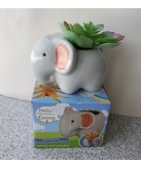 "Emmy Elephant Planter - Ceramic Animal Pot for Succulents 4"" - $12.99"