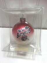 Tampa Bay Buccaneers Football Glass Ornament Ball Christmas 22714 image 1