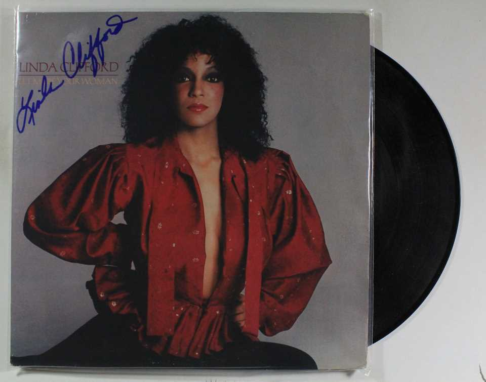 Primary image for Linda Clifford Signed Autographed Record Album