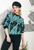 Knit jumper - 80s vintage Xmas sweater - $34.37