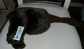 "Golf Club Cover Plush ""Bare Butt"" brown bear butt head cover NWT  - $46.00"