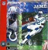 Edgerrin James Indianapolis Colts NFL McFarlane action figure NIP NIB Edge Miami - $25.98