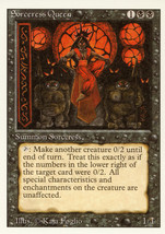 Magic: The Gathering 3rd Edition - Sorceress Queen - $0.89