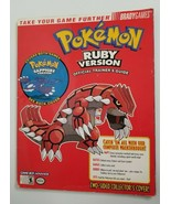 Pokemon Ruby & Sapphire Brady Games Trainer's Guide Nintendo GBA Two Sided - $9.99