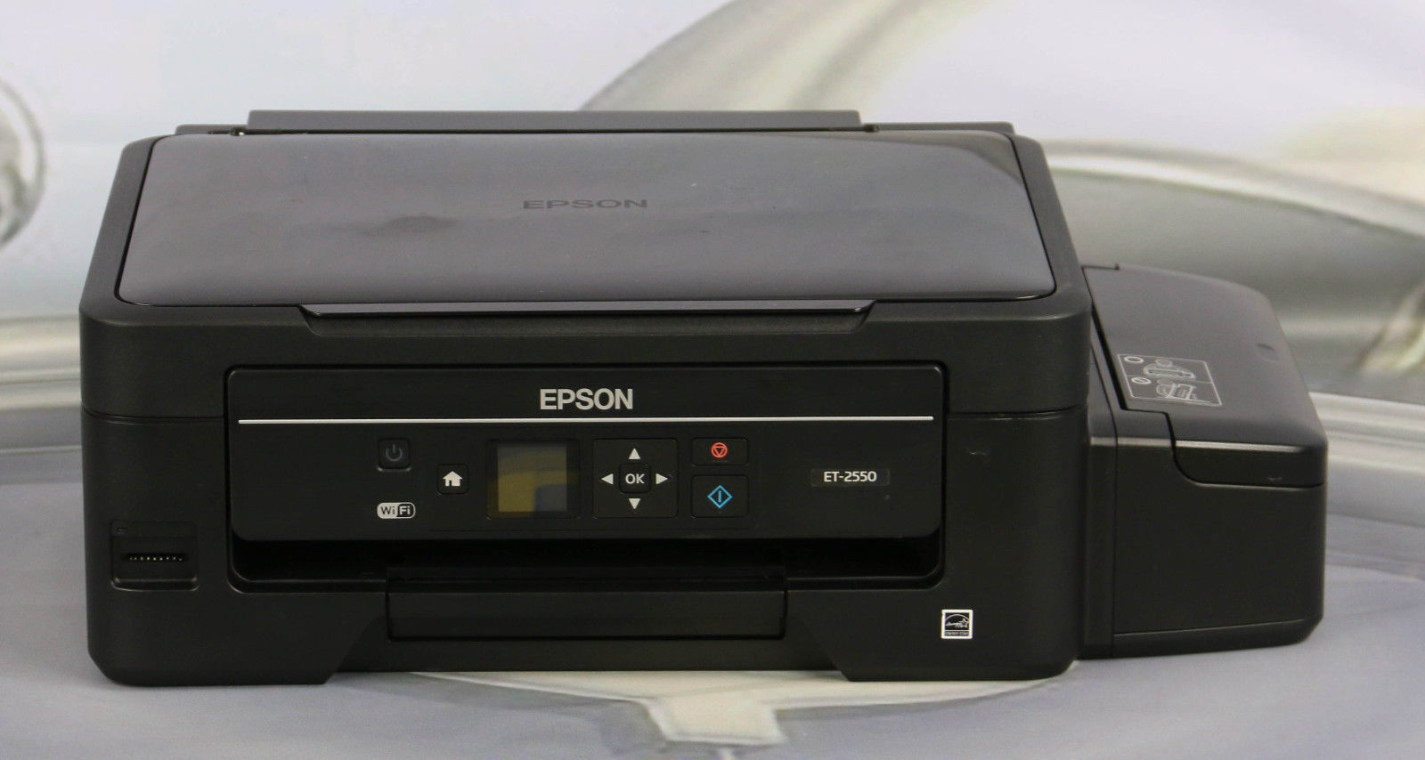epson expression et 2550 ecotank all in one printer copier scanner one d6075 office. Black Bedroom Furniture Sets. Home Design Ideas